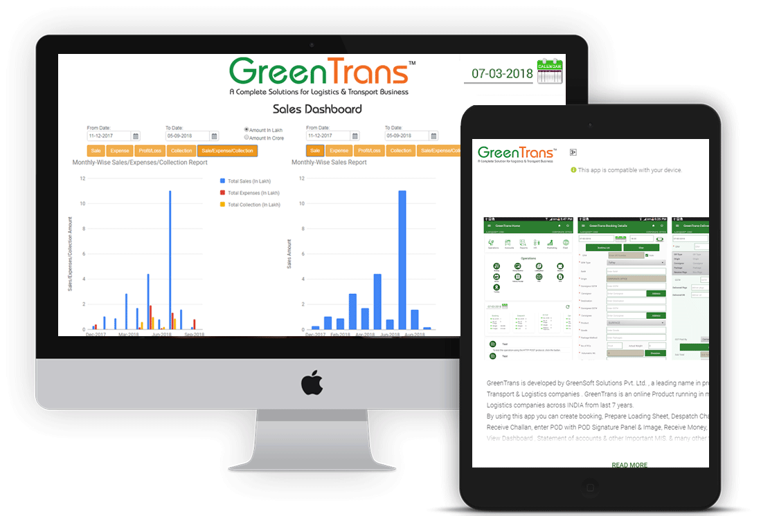 Greentrans software